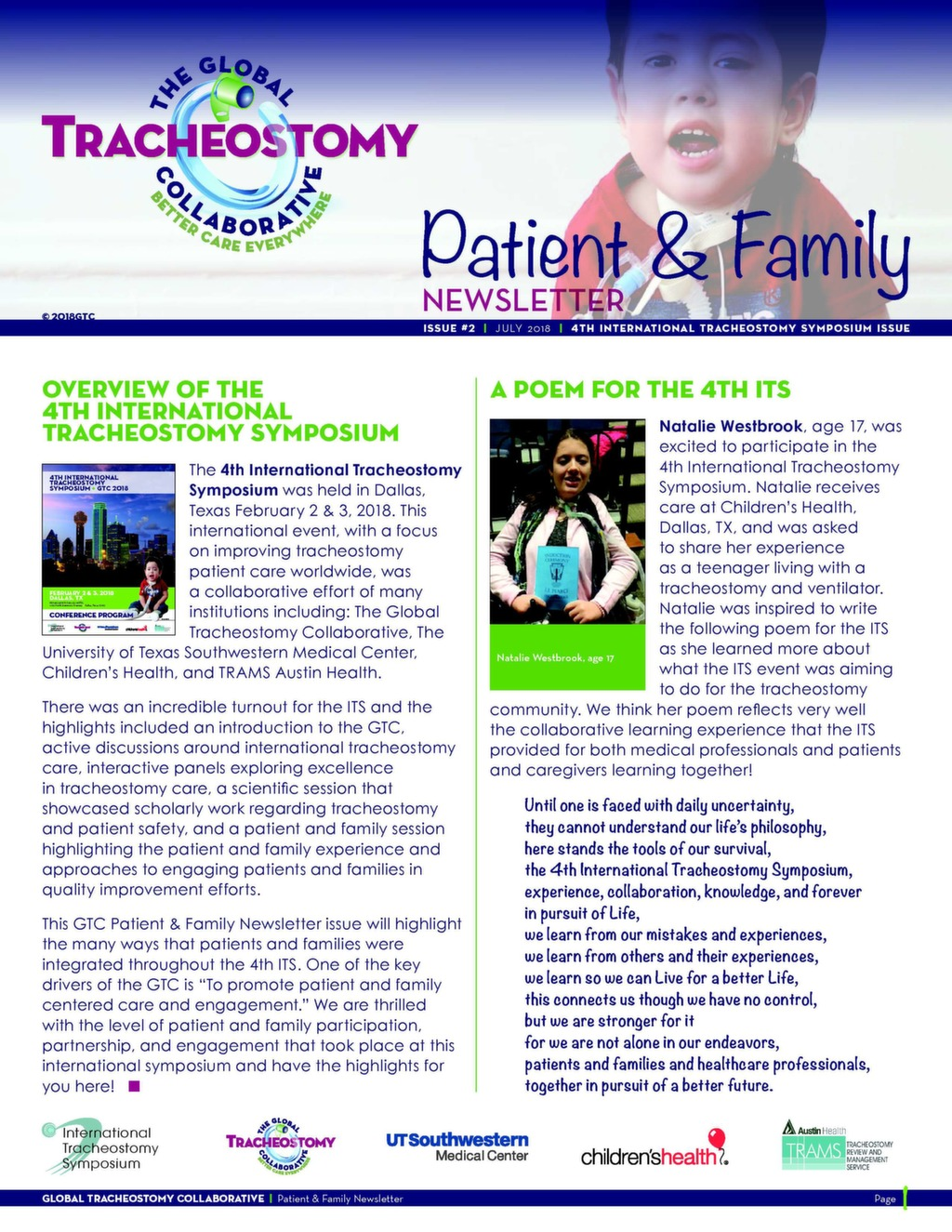 The global tracheostomy collaborative better care everywhere pf newsletter issue 2 fandeluxe Images